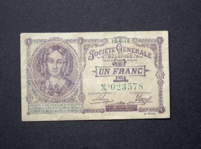 1 Franc 1918 Belgique