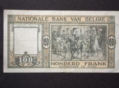 Billet 100 Francs Belgique