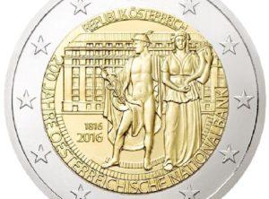 2€ Autriche 2016
