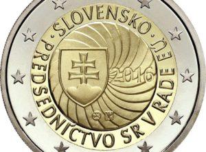2€ Slovaquie 2016