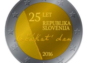 2€ Slovénie 2016