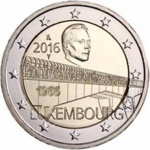 2€ Luxembourg 2016