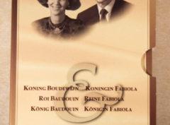 Set – Roi Baudouin & Reine Fabiola 1998