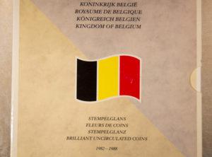Set – Belgique 1982 à 1988