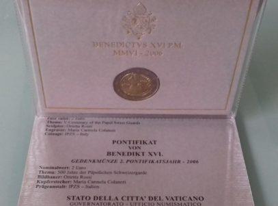 2 € Commémorative 2006 Vatican BU