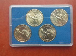 US Dollar 2007 Coin Card