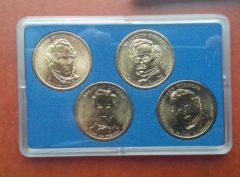 US Dollar 2010 Coin Card