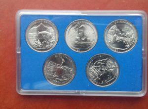 US Quarter 2011 Coin Card
