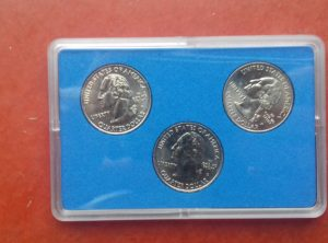US Quarter 2009/II Coin Card