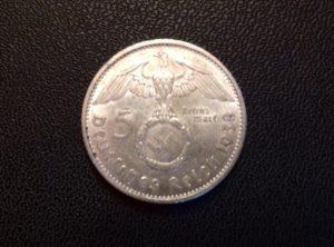 5 Reichsmark – 1938