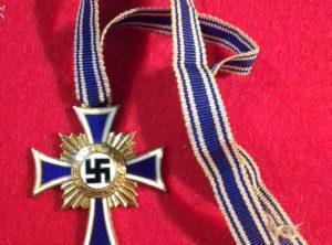 Croix des Mères Allemande III Reich 1ère Classe