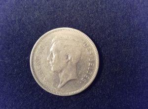 5 Francs – 1 Belga 1932