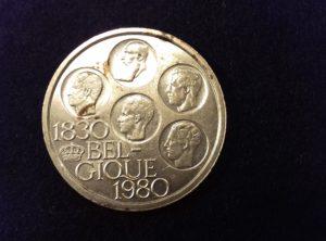 500 Francs Belgique – 1980
