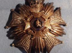 Plaque Officier Léopold II – Argent