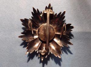 Plaque Officier Ordre de la Couronne
