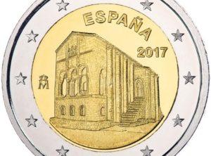 2€ Espagne 2017 – Eglise Santa Maria De Naranco d'Oviedo