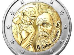 2€ France 2017 – Rodin