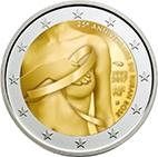 2€France 2017 – Ruban Rose