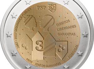 2€ Portugal 2017 – 150 ans de la PSP