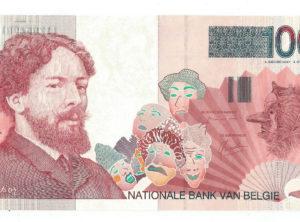 100 Francs – Belgique – Ensor – FDC