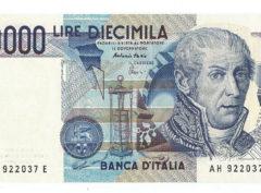 10.000 Lire – 1984 – Italie – SUP