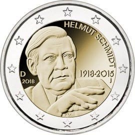 2€ – Allemagne – 2018 – SCHMIDT
