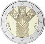 2€ – Estonie Commune – 2018