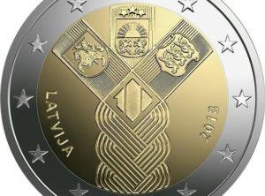2€ – Lituanie – 2018