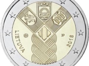 2€ – Lettonie – 2018