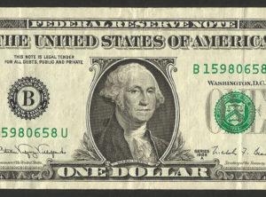 1$ – USA – Série 1968 A