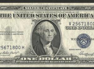 1 Silver Dollar – USA – 1935 E