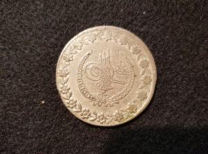5 Piastres Turquie 1223-23