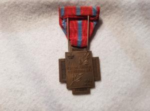 Croix du Feu Type I – 14-18 – Belgique