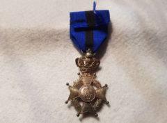 Officier Ordre de Léopold II – Unilingue + Palme