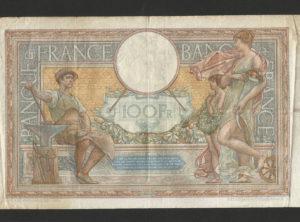 100 Francs – 26-01-1939 – Luc Olivier Merson