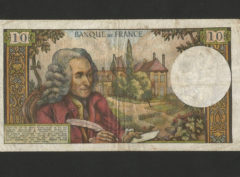 10 Francs – Voltaire – 1.04.1965