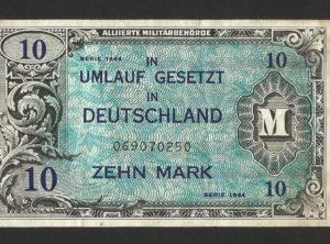 10 Mark – Serie 1944 – Militaire