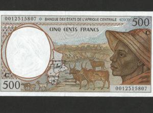 500 Francs – BEAC – Congo