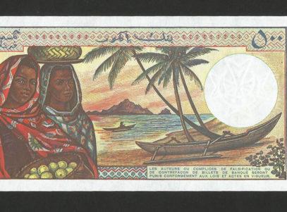 500 Francs - Banque centrale des Comores