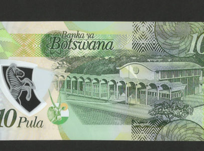 Billet - 10 Pula - Bank of Botswana