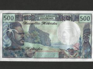 500 Francs – Institut d'émission d'Outre-Mer – FDC/NEUF