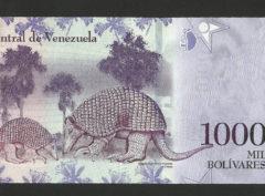 1000 Bolivares – République du Vénézuela FDC/NEUF