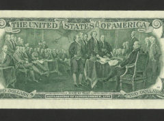 2 Dollars – USA – Series 2013 FDC/NEUF