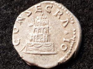 Denier en Argent – Antonin le Pieu – 138-161
