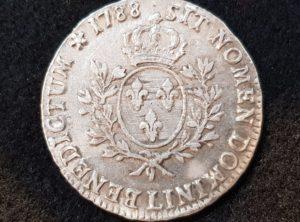 Ecu – Louis XVI – 1788 – Bayonne