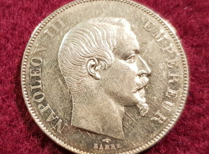 50 Francs - Empire Français - Napoleon III - 1855 A Paris