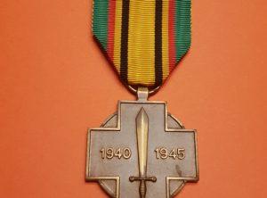 Commémorative - 1939 - 1940 - 1945 - Belgique