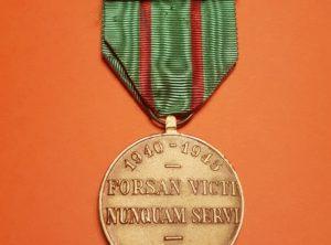 Médaille du Réfractaire - 1940 - 1945 - Forsan Victi Nunquam Servi