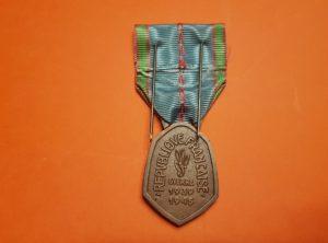 Médaille Commémorative 1939 - 1945 - République Française