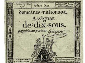 Assignat - Dix sous - France